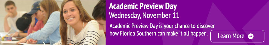 Academic Preview Day, November 11