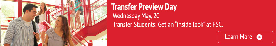 Transfer Preview Day, Wednesday May 20, Learn More