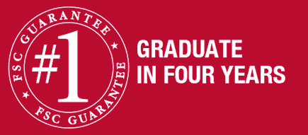 guarantee number one is you can graduate in four years