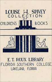 Photo: 1930s-1950s Library Sign