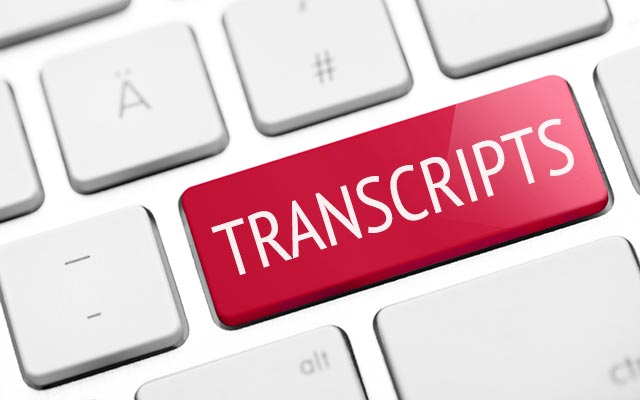 Transcripts Request