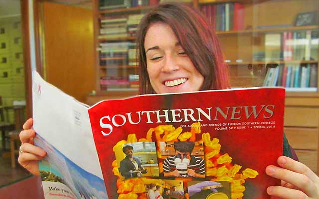 Alumni Reading Southern News