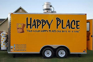 The Happy Place food truck.