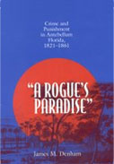 "Book: ""A Rogue's Paradise""Crime and Punishment in Antebellum Florida,1821-1861"