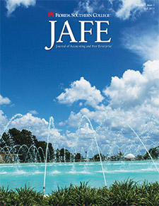 Fall 2015 JAFE cover