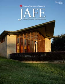 Fall 2016 JAFE cover