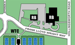 Campus Map (Edge Hall)