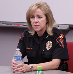 Photo: Lakeland Police Chief Lisa Womack